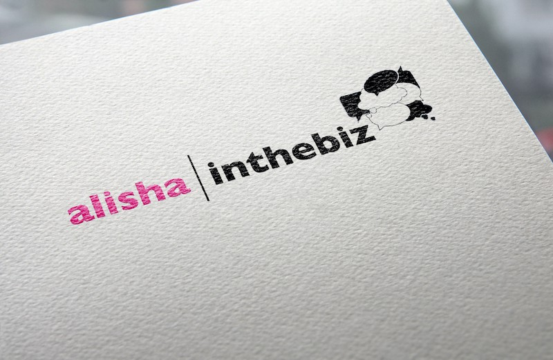 Alisha in the Biz Logo | Brooklyn, NY
