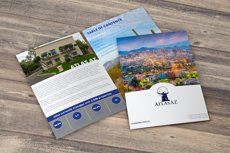 Atlas AZ Property Management Brochure | Phoenix, AZ