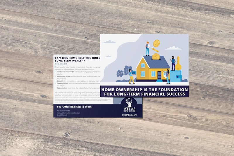 Atlas Real Estate Investment Postcard | Denver, CO