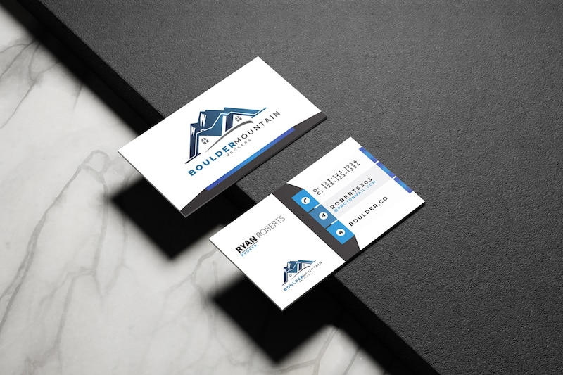 Boulder Mountain Brokers Business Cards | Nederland, CO