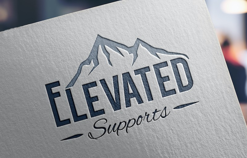 Elevated Supports Logo | Longmont, CO