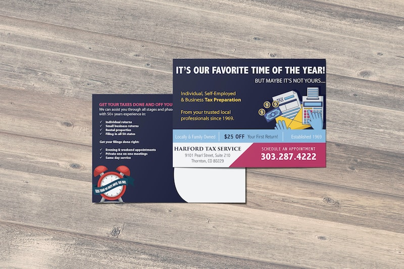 Harford Tax Services Direct Mail | Thornton, CO