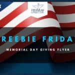 Free Memorial Day Giving Flyer