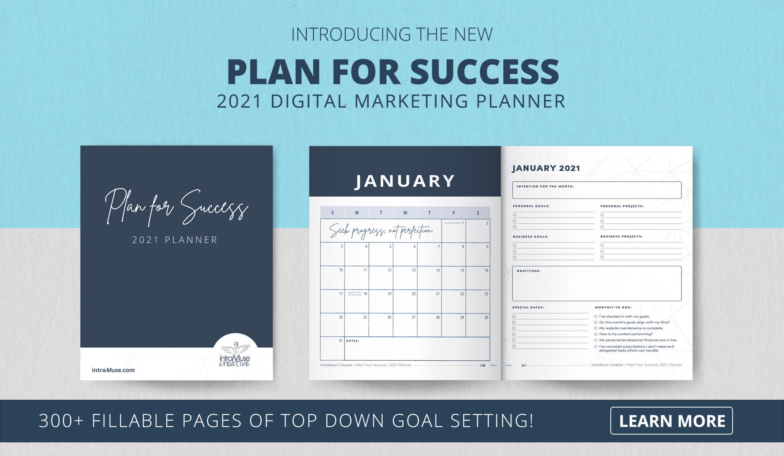 Plan for Success: 2021 Digital Marketing Planner
